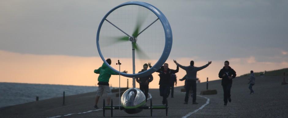 Voiture éolienne Chinook