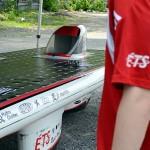 La voiture solaire Eclipse, présentée par l'ETS