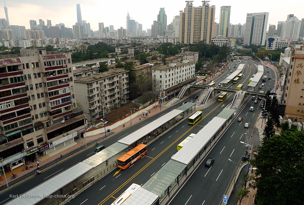Transport durable : l'exemple de Guangzhou